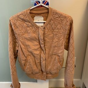 HEI HEI bomber jacket quilted